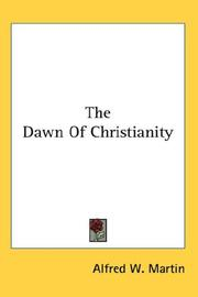The Dawn Of Christianity PDF