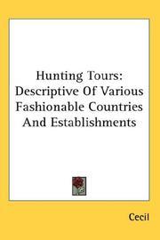 Hunting Tours PDF