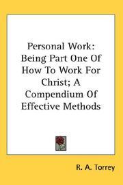 Personal Work PDF