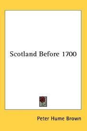 Scotland Before 1700 PDF