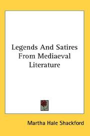 Legends And Satires From Mediaeval Literature PDF