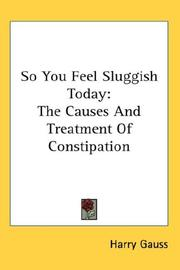 So You Feel Sluggish Today PDF