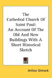 The cathedral church of Saint Paul by Arthur Dimock
