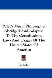 Paley's Moral Philosophy PDF