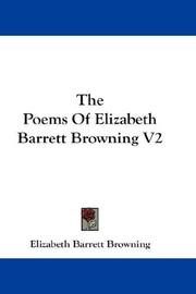 The Poems Of Elizabeth Barrett Browning V2 PDF