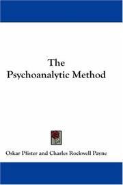 The Psychoanalytic Method PDF