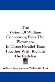 Cover of: The Vision Of William Concerning Piers The Plowman by William Langland