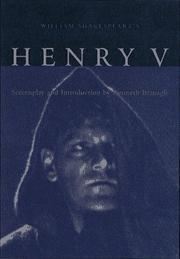 Cover of: Henry V by William Shakespeare