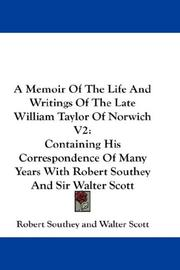 A Memoir Of The Life And Writings Of The Late William Taylor Of Norwich V2 PDF