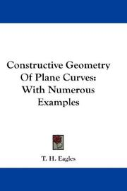 Constructive geometry of plane curves PDF