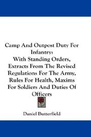 Camp And Outpost Duty For Infantry PDF