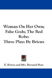 Woman On Her Own; False Gods; The Red Robe PDF