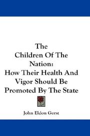 The Children Of The Nation PDF