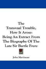 The Transvaal Trouble, How It Arose PDF