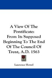 A View Of The Pontificate PDF