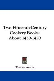 Two fifteenth-century cookery-books PDF