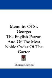 Memoirs Of St. George by Thomas Dawson