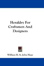 Heraldry For Craftsmen And Designers PDF