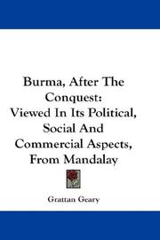 Burma, After The Conquest PDF
