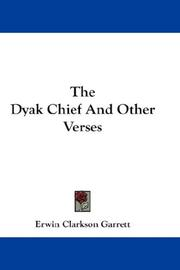 The Dyak Chief And Other Verses PDF
