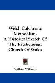 Welsh Calvinistic Methodism PDF