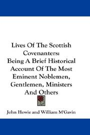 Lives Of The Scottish Covenanters PDF