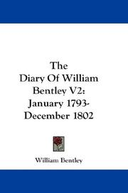 The Diary Of William Bentley V2 PDF