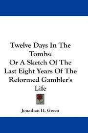 Twelve Days In The Tombs PDF
