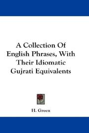 A Collection Of English Phrases, With Their Idiomatic Gujrati Equivalents PDF