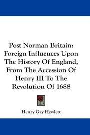 Post Norman Britain PDF