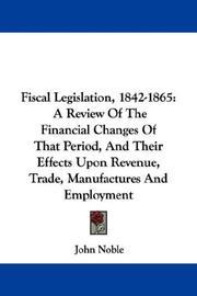 Fiscal Legislation, 1842-1865 PDF