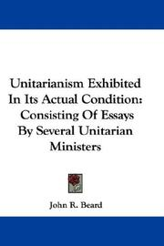 Unitarianism Exhibited In Its Actual Condition PDF