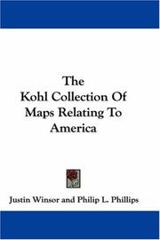 The Kohl collection of maps relating to America PDF