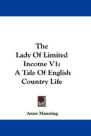 The Lady Of Limited Income V1 PDF