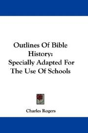 Outlines Of Bible History PDF