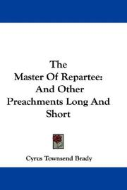 The Master Of Repartee PDF