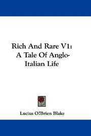 Rich And Rare V1 PDF