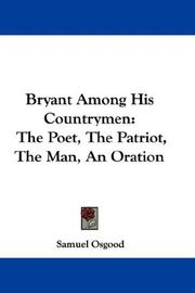 Bryant Among His Countrymen PDF