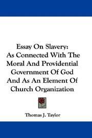 Essay On Slavery PDF