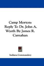 Camp Morton PDF