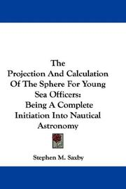 The Projection And Calculation Of The Sphere For Young Sea Officers PDF