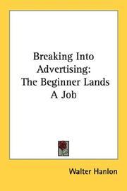 Breaking Into Advertising