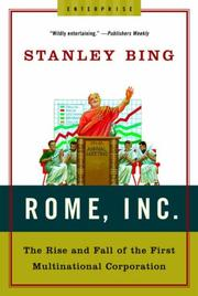 Rome, Inc by Stanley Bing