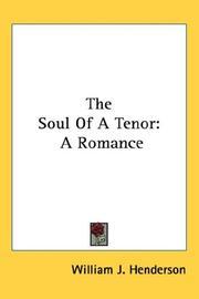 The Soul Of A Tenor PDF