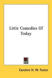 Little Comedies Of Today PDF