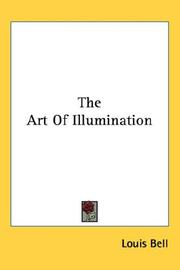 The art of illumination by Louis Bell
