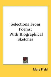 Selections From Poems PDF