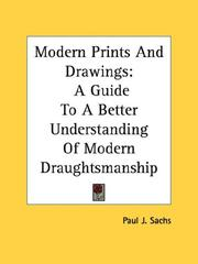 Modern prints & drawings by Paul J. Sachs