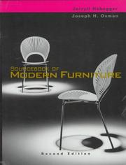 Sourcebook of modern furniture PDF