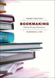 Bookmaking by Marshall Lee